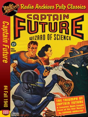 cover image of Captain Future #4