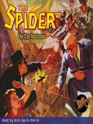 cover image of The Spider #16