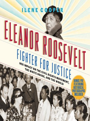 cover image of Eleanor Roosevelt, Fighter for Justice
