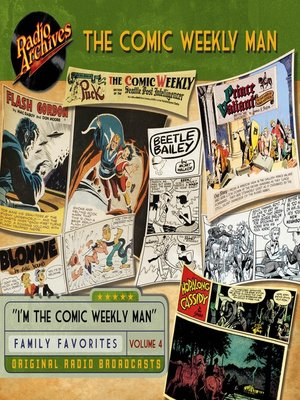 cover image of The Comic Weekly Man, Volume 4