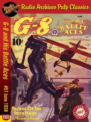 cover image of G-8 and His Battle Aces #57