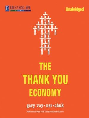 the thank you economy audiobook