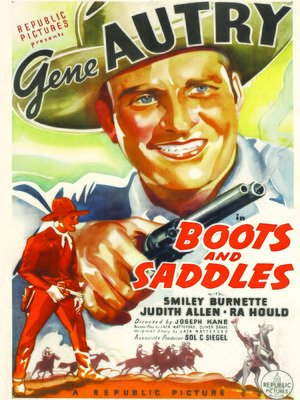 cover image of Boots and Saddles