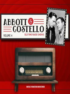 cover image of Abbott and Costello, Volume 4