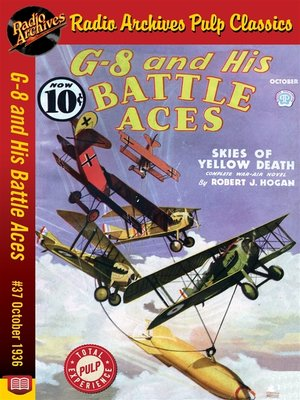 cover image of G-8 and His Battle Aces #37