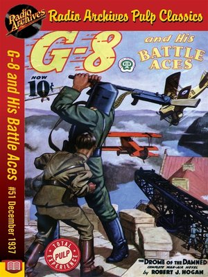 cover image of G-8 and His Battle Aces #51