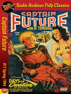 cover image of Captain Future #17