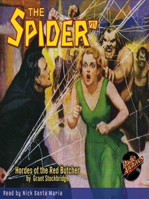 cover image of The Spider #21