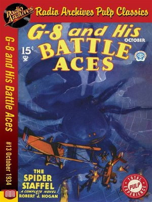 cover image of G-8 and His Battle Aces #13