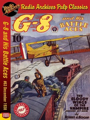 cover image of G-8 and His Battle Aces #63