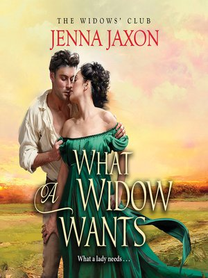 cover image of What a Widow Wants
