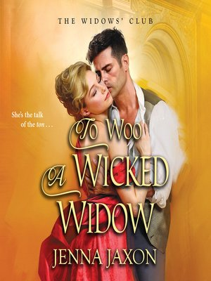 cover image of To Woo a Wicked Widow