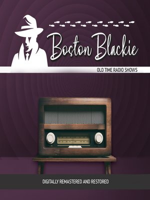 cover image of Boston Blackie