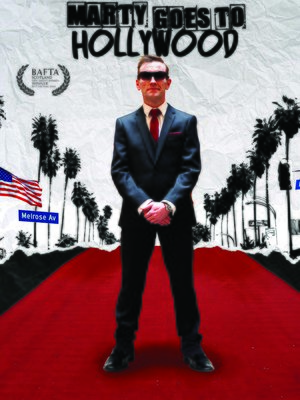 cover image of Marty Goes to Hollywood