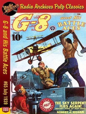 cover image of G-8 and His Battle Aces #65