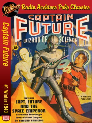 cover image of Captain Future #1