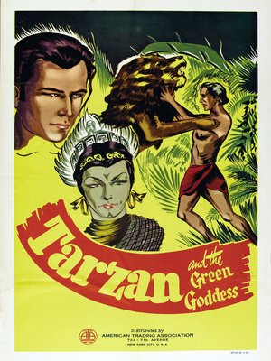 cover image of Tarzan and the Green Goddess