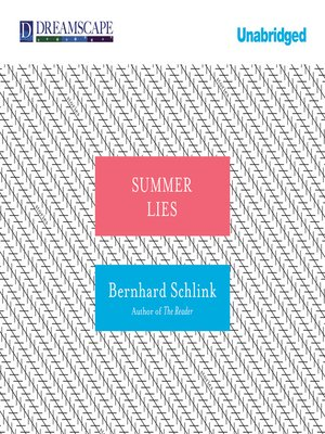 cover image of Summer Lies