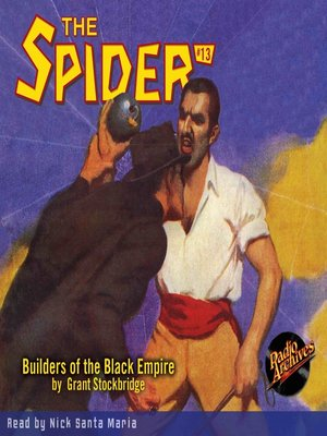 cover image of The Spider #13