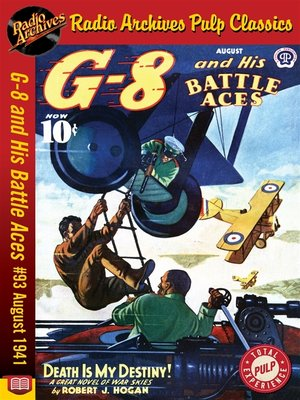 cover image of G-8 and His Battle Aces #93