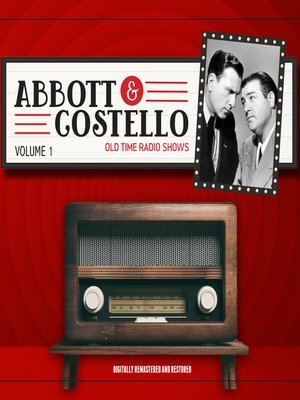 cover image of Abbott and Costello, Volume 1