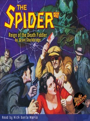 cover image of The Spider #20