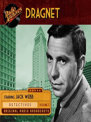 cover image of Dragnet, Volume 7