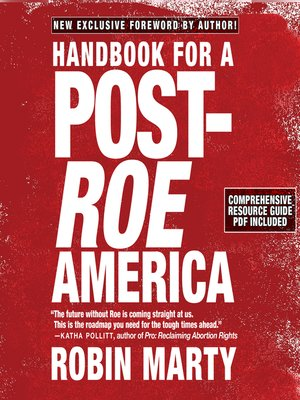 cover image of Handbook for a Post-Roe America
