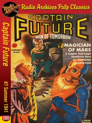 cover image of Captain Future #7