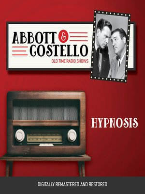 cover image of Abbott and Costello: Hypnosis