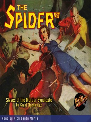 cover image of The Spider #29
