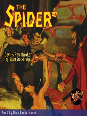 cover image of The Spider #44