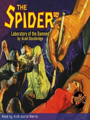 cover image of The Spider #34