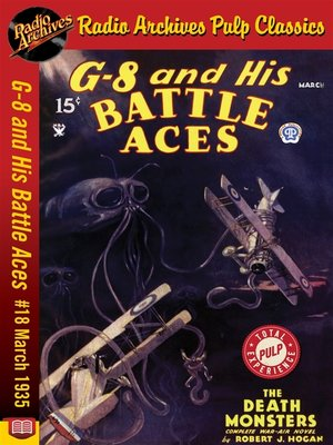 cover image of G-8 and His Battle Aces #18