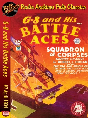 cover image of G-8 and His Battle Aces #7