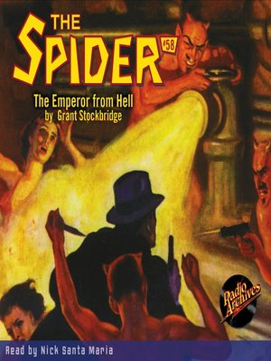cover image of The Spider #58