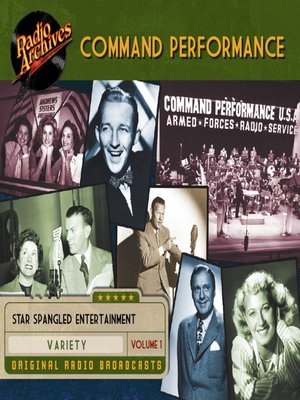 cover image of Command Performance, Volume 1