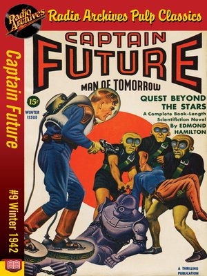 cover image of Captain Future #9