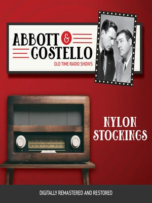 cover image of Abbott and Costello: Nylon Stockings