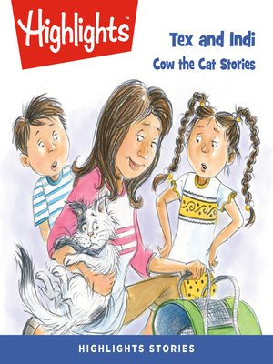 cover image of Tex and Indi: Cow the Cat Stories