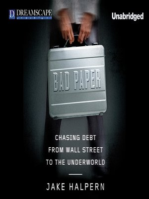 cover image of Bad Paper