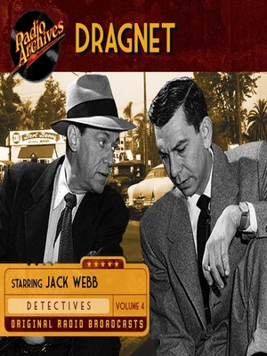 cover image of Dragnet, Volume 4