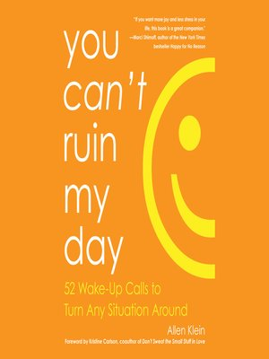 cover image of You Can't Ruin My Day
