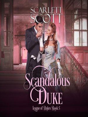 cover image of Scandalous Duke