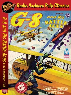 cover image of G-8 and His Battle Aces #107
