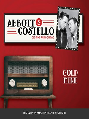 cover image of Abbott and Costello: Gold Mine