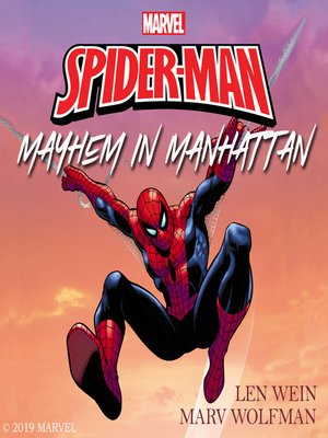 cover image of The Amazing Spider-Man: Mayhem in Manhattan