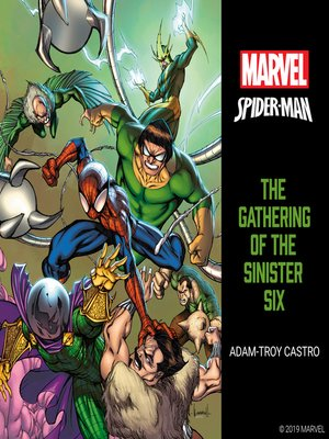 cover image of Spider-Man: The Gathering of the Sinister Six