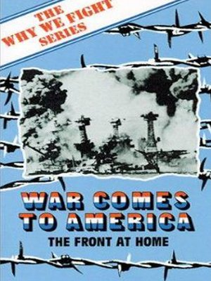 cover image of War Comes to America