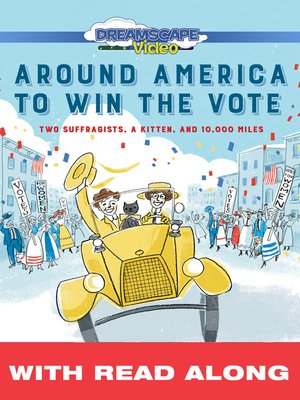 cover image of Around America to Win the Vote